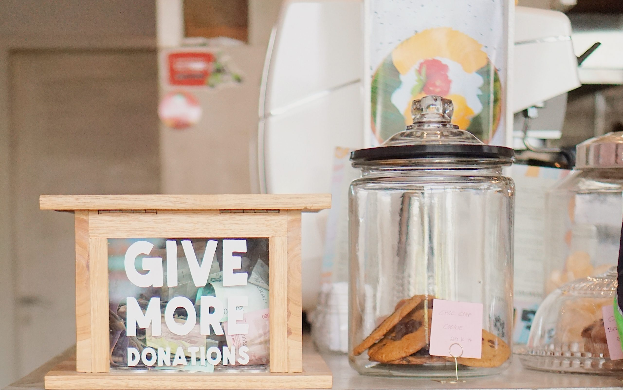 donation event to raise money with fundraising